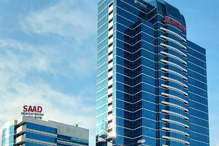 Гостиница и Бизнес-Центр Marriott