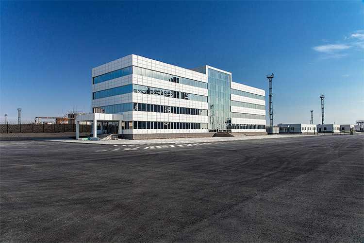 Центр управления Aktau North Terminal