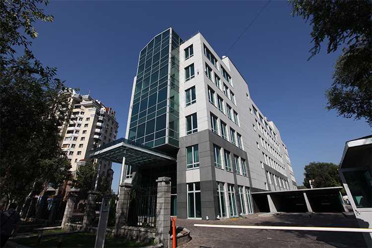 Головной офис Kaspi Bank