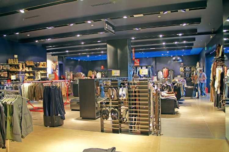 Mega Centre Almaty Строительство 38 бутиков